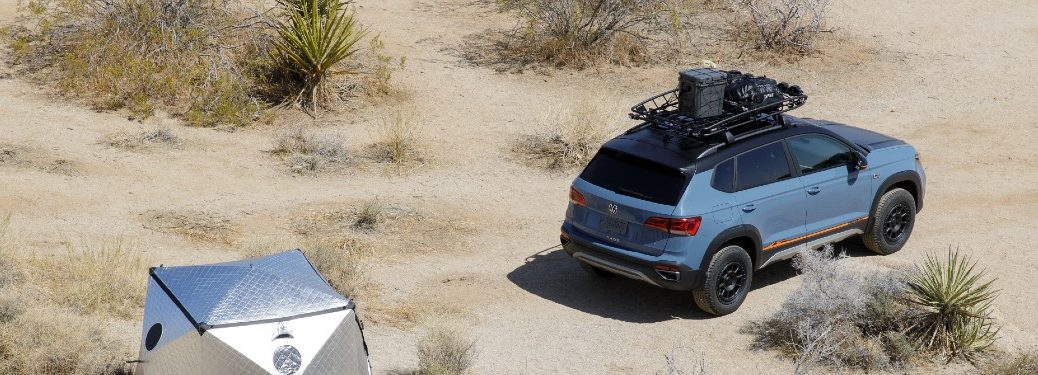 Taos with Basecamp accessories package in desert
