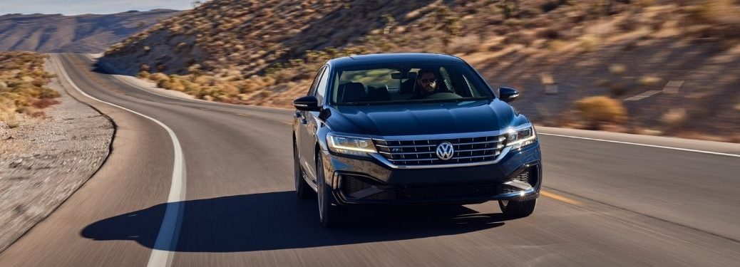 front view of the 2021 VW Passat