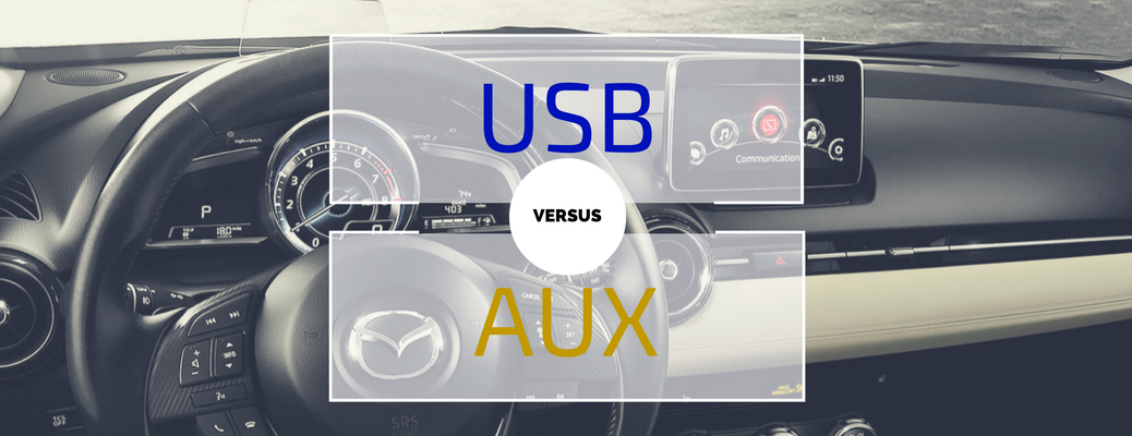 Benefits of USB Port vs AUX Jack for Playing Music in the Car