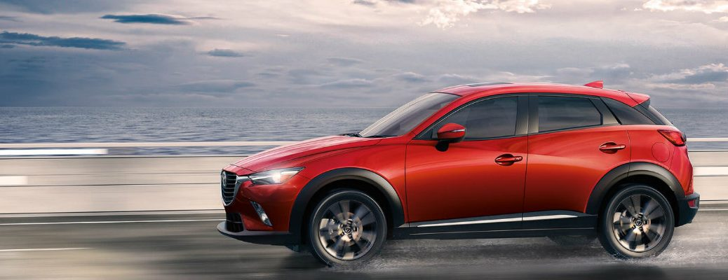 Which colors does the 2017 Mazda CX-3 come in?