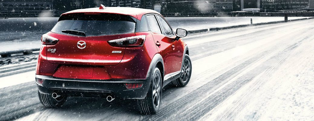 Does the 2017 Mazda CX-3 have all-wheel drive?