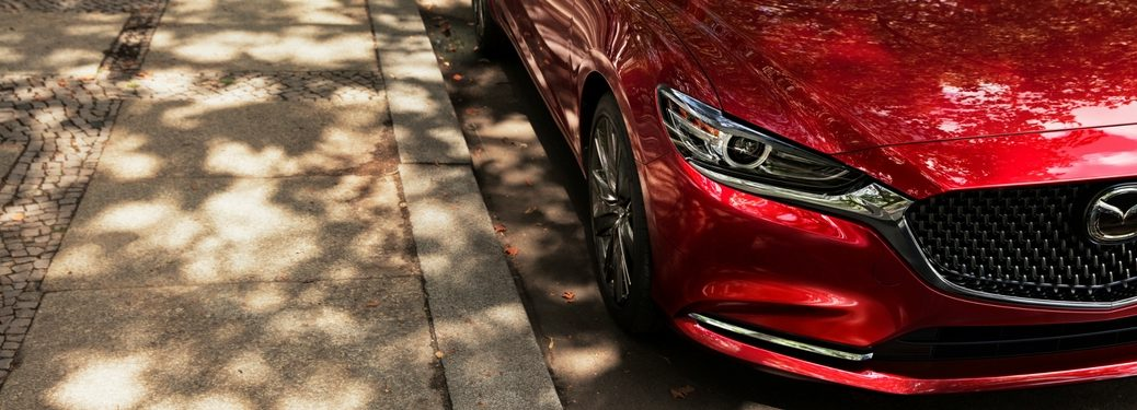 2018 mazda6 new grille and front fascia