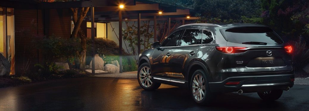 2021 Mazda CX-9 parked in a driveway