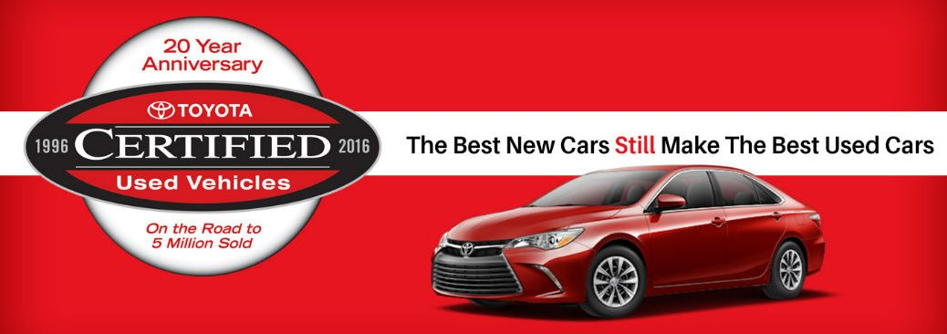 Toyota Certified Pre-Owned Vehicles recent model years Novato CA