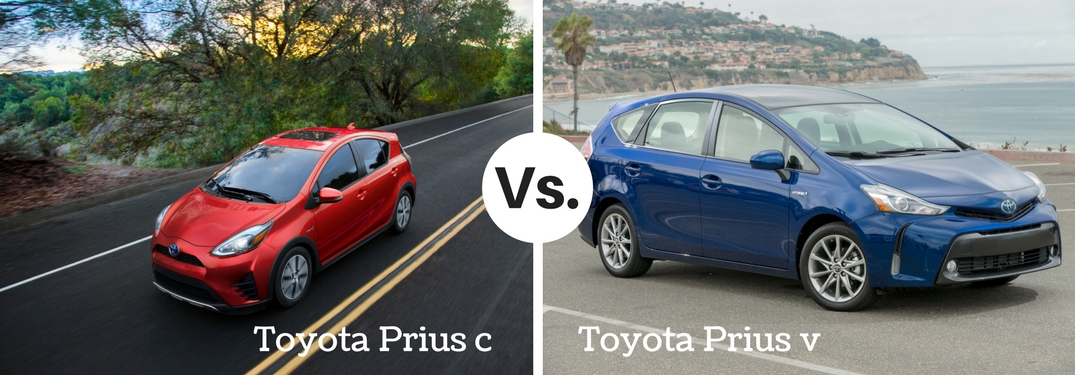 Prius Vs Prius C >> What S The Difference Between The Prius C And Prius V