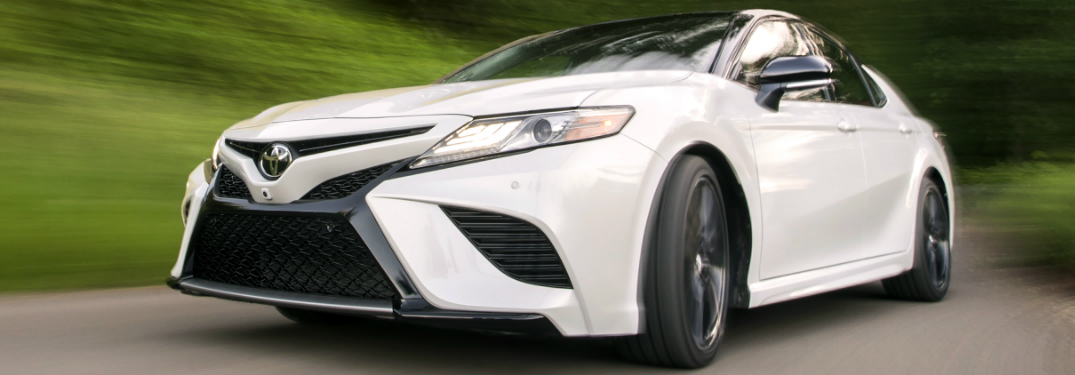 2018 toyota camry low tire pressure display