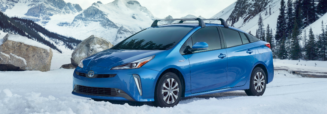 Does the 2019 Toyota Prius offer an all-wheel drive system?