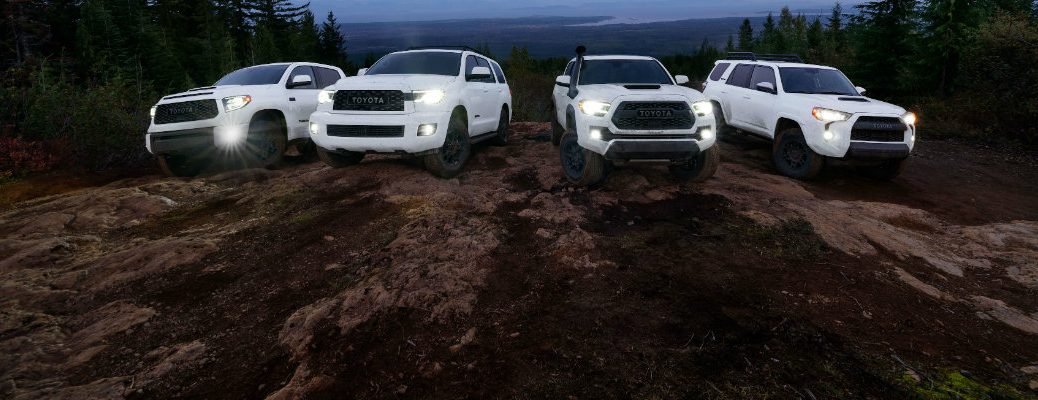 2020 Toyota TRD Pro vehicle family