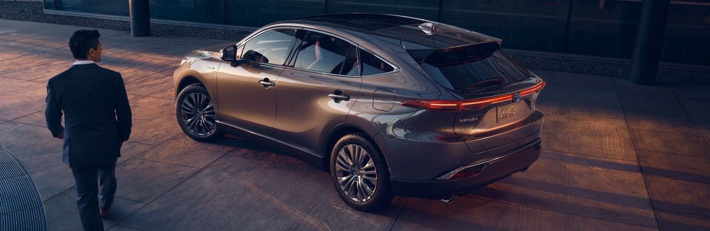 2021 Toyota Venza Cargo Capacity and Passenger Space Dimensions