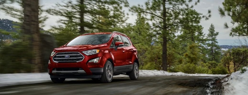 2021 Ford EcoSport on a Road
