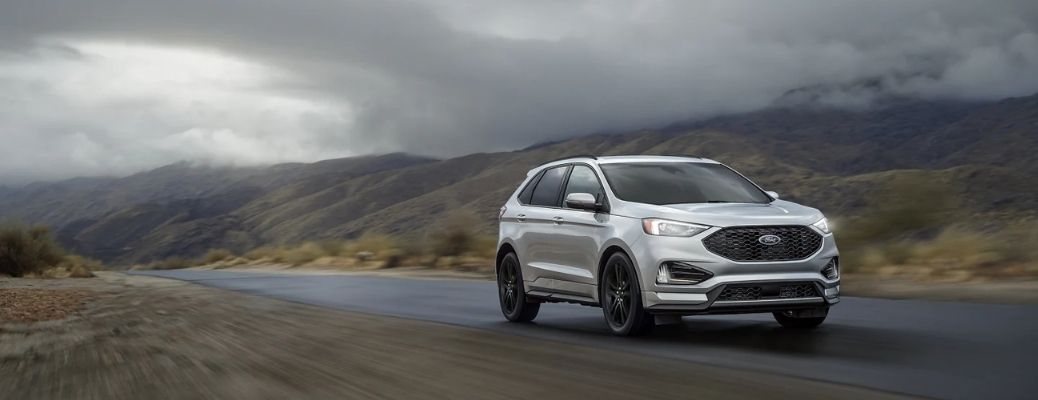 2021 Ford Edge on a Highway