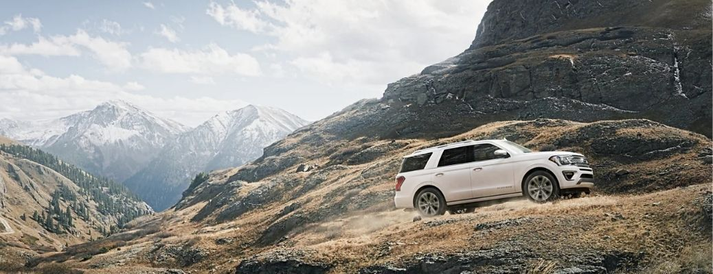2021 Ford Expedition Uphill