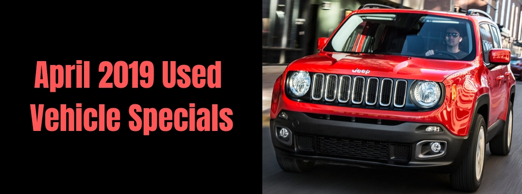 What Pre-Owned Vehicles Are Available at Special Pricing in Farmington this April?