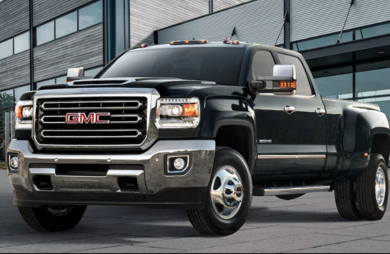 2019 GMC Sierra 3500 parked in a lot