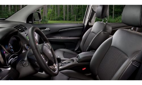 2020 Dodge Journey interior shot through driver side window