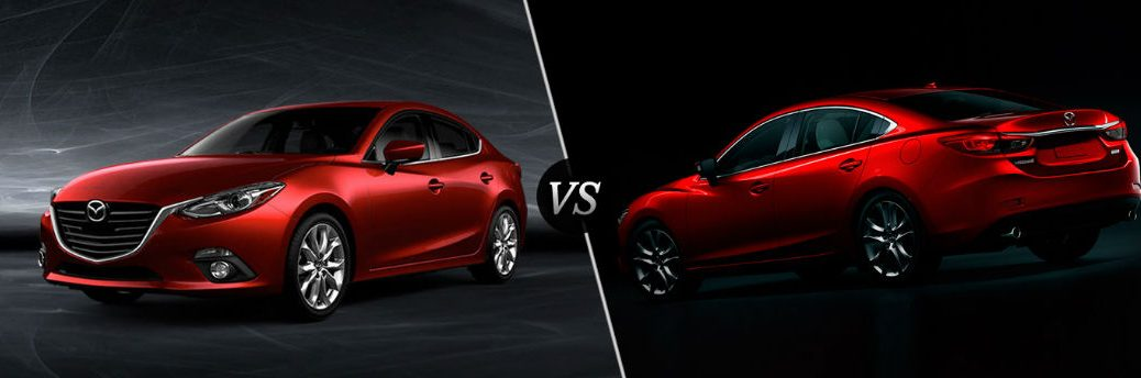 What is the difference between the Mazda 3 and Mazda 6?
