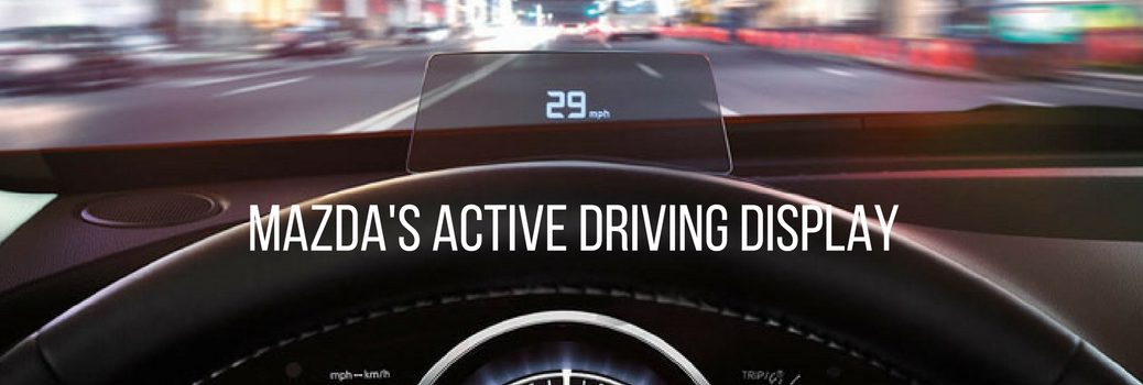 mazda's active driving display feature
