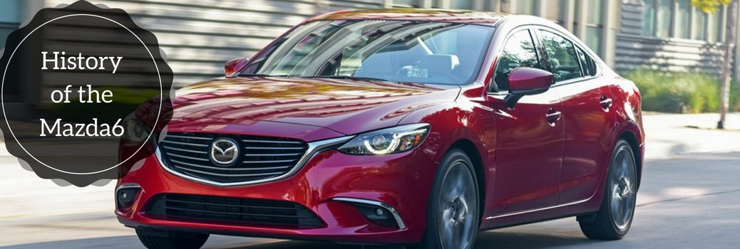 history of the mazda6 in pictures