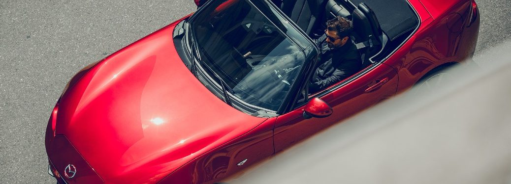 2019 MX-5 Miata pictured from above