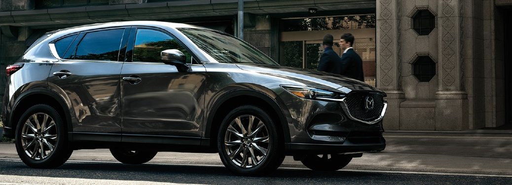 2020 CX-5 parked on a city curb