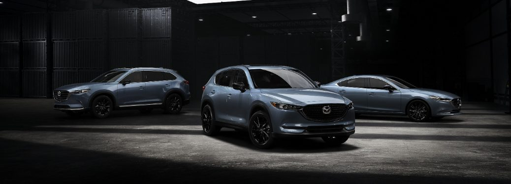 2021 CX-5, CX-9, and Mazda6 Carbon Edition models