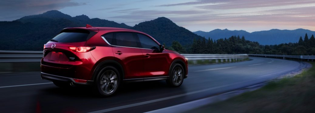 2021 CX-5 driving in mountains
