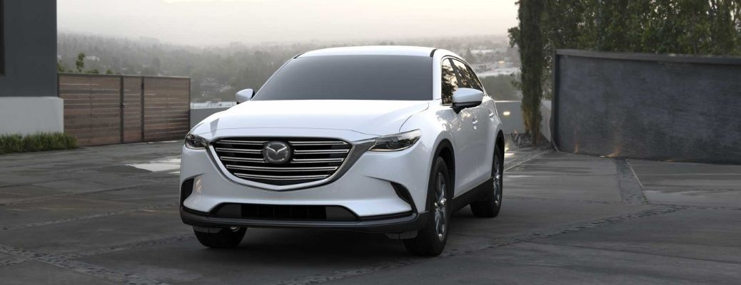 2021 Mazda CX-9 parked at a house