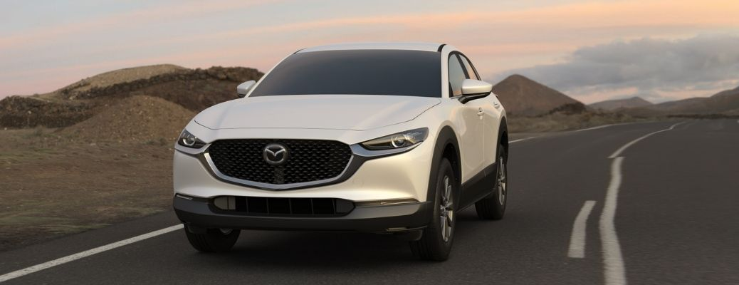 2021 Mazda CX-30 on a highway