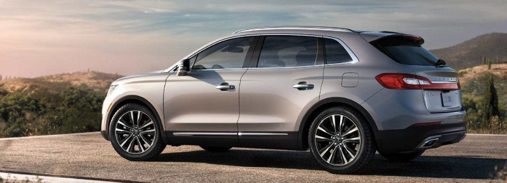 full view of 2018 lincoln MKX