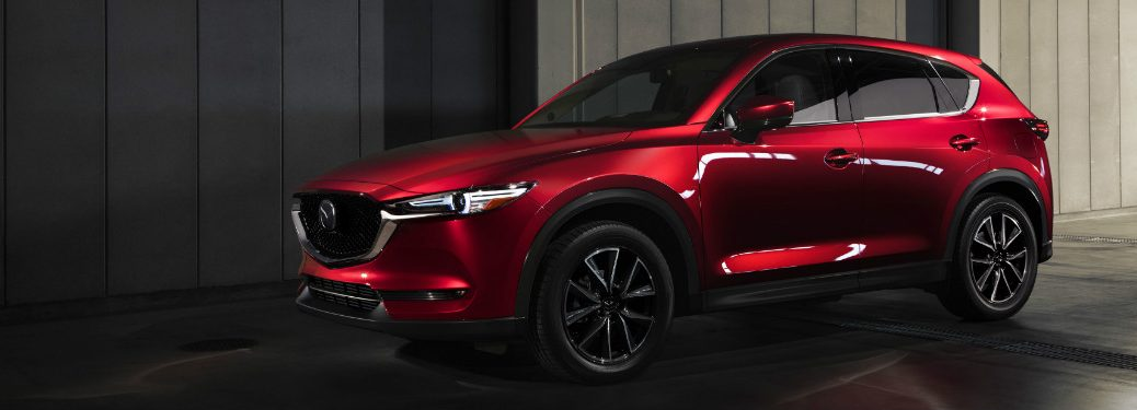 2018 Mazda CX-5 red side exterior view
