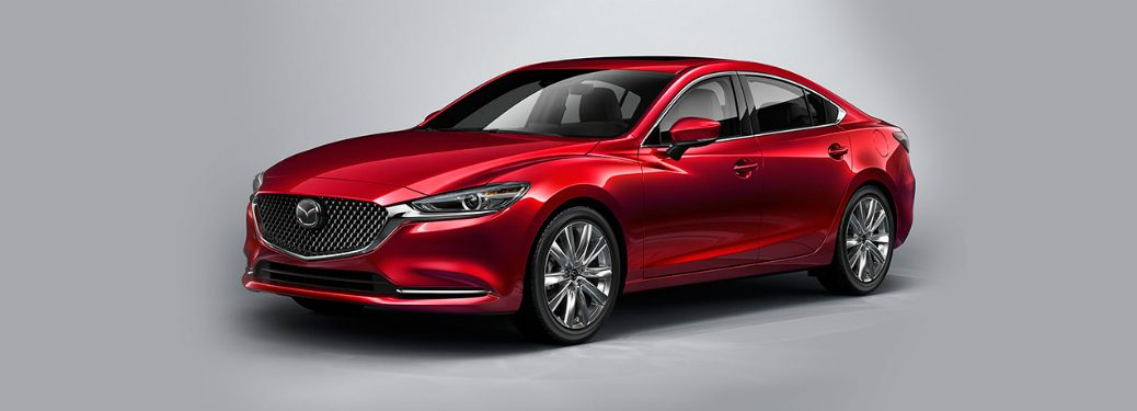 2018 Mazda6 exterior front red
