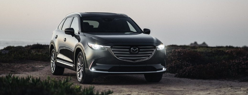 2020 Mazda CX-6 parked by the beach