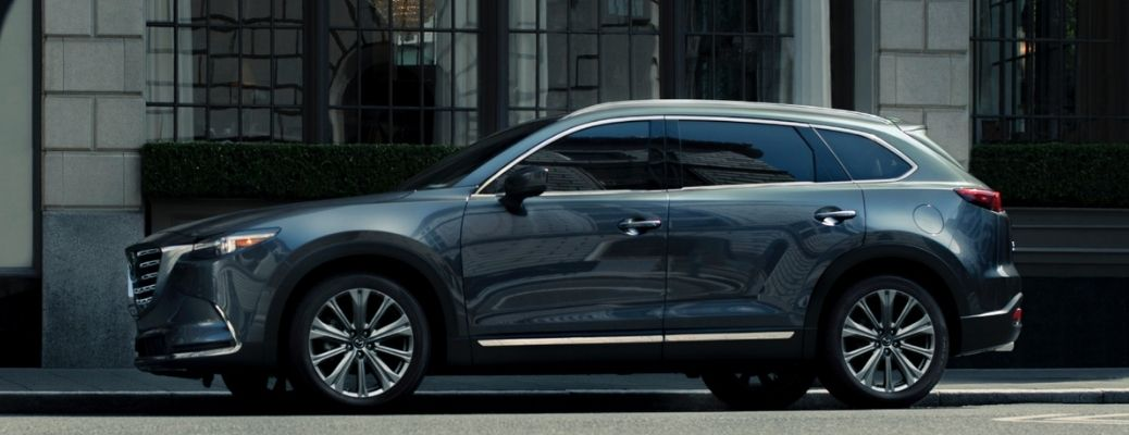 2021 Mazda CX-9 parked on the side of the road