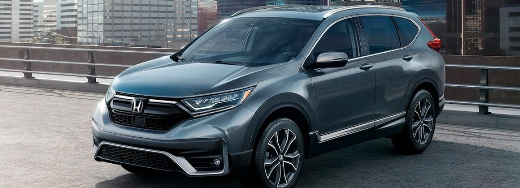 2021 Honda CR-V parked and on display