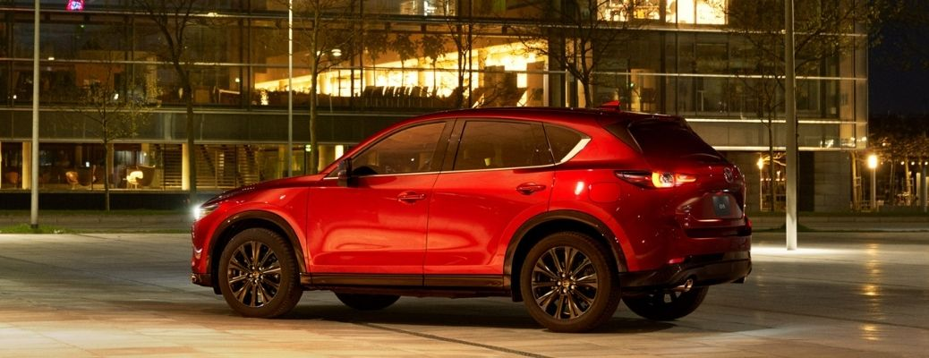 2022 Mazda CX-5 exterior side look and tail light