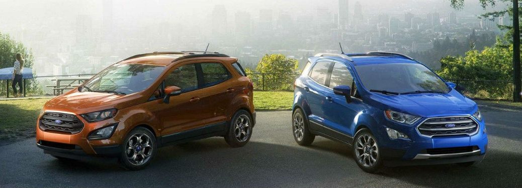 2018 Ford Ecosport Exterior Paint Options James Braden Ford