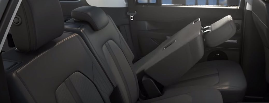 Demonstration of Ford PowerFold Seats
