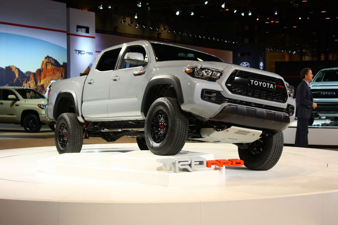 New Cement color release date for the 2017 Toyota Tacoma TRD Pro in Lima, OH at Allan Nott Toyota
