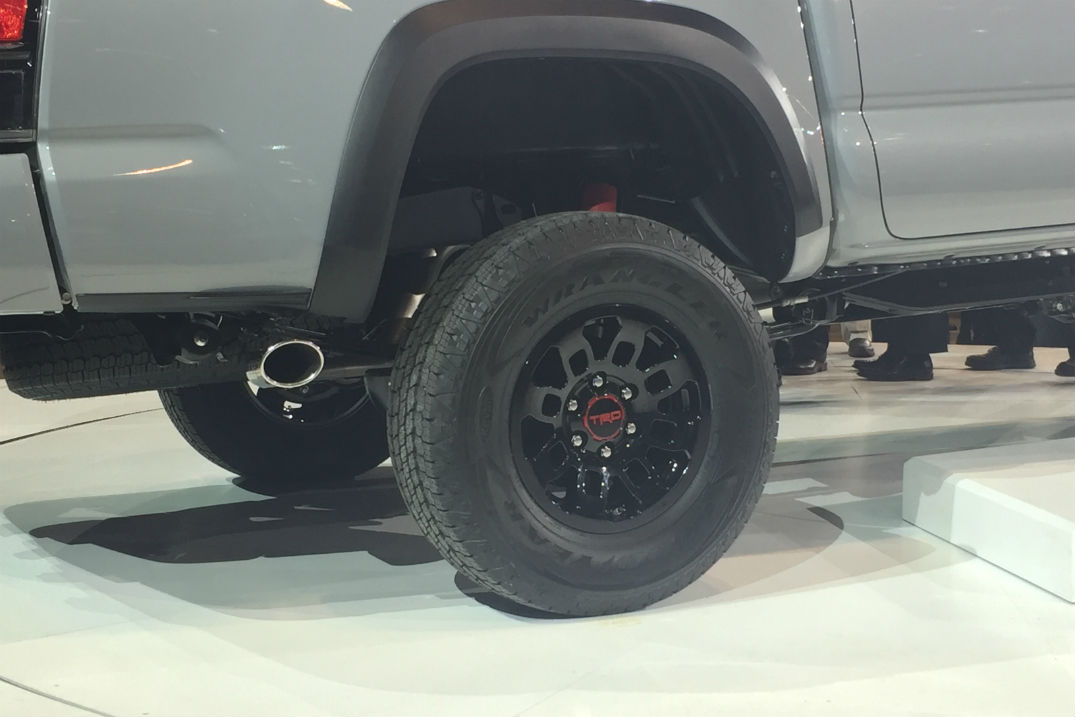 wider track for 2017 Toyota Tacoma TRD Pro in Lima, OH at Allan Nott Toyota