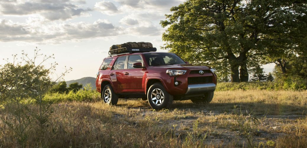 release date for the 2017 Toyota 4Runner