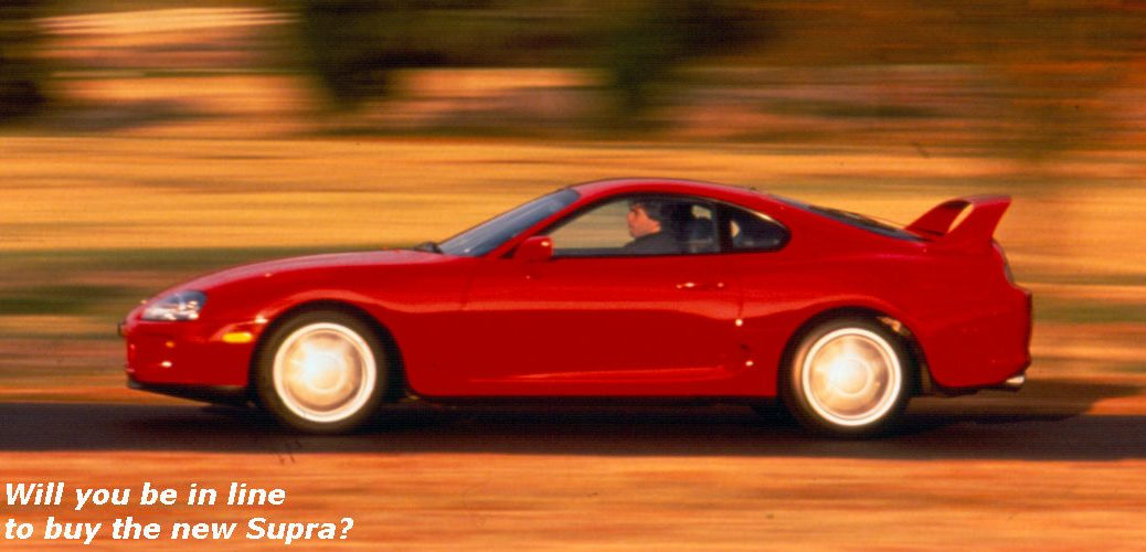Is Toyota bringing the Supra back to life?