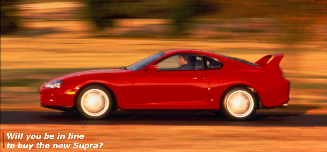 Is the Toyota Supra going to be built again?