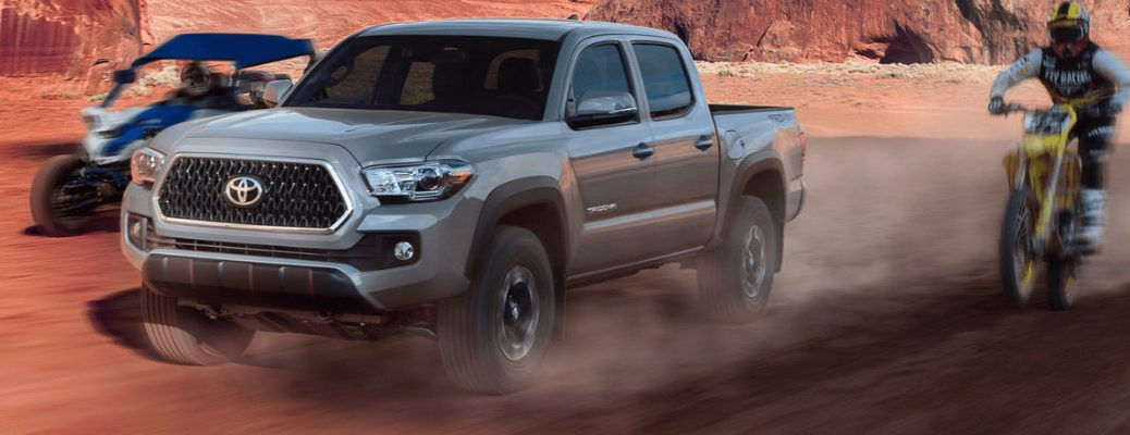 2019 Toyota Tacoma participating in motor sports