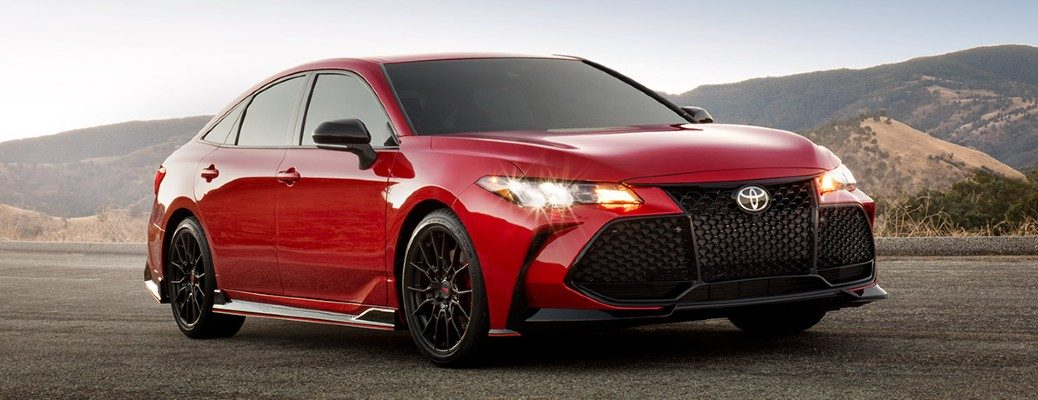 Red 2020 Toyota Avalon