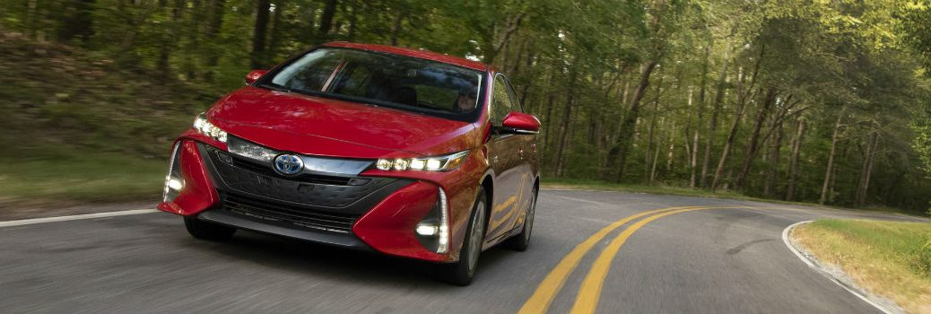 2021 Toyota Prius Prime Exterior Driver Side Front Angle