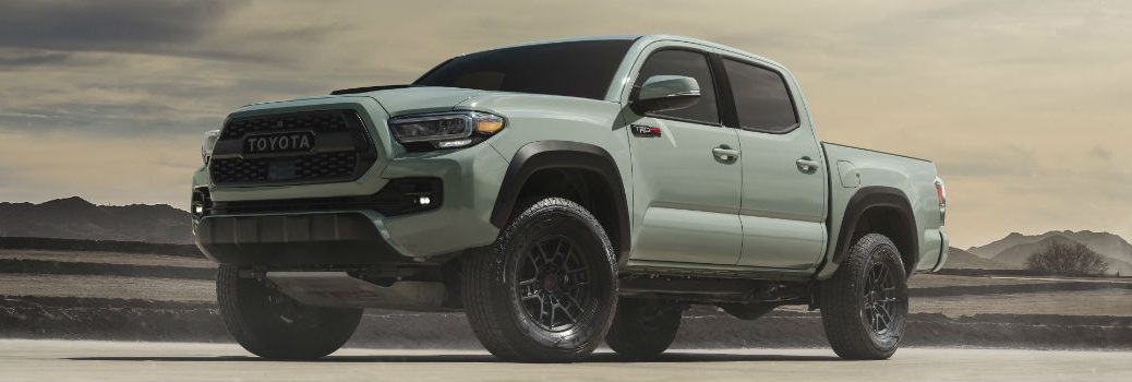 2021 Toyota Tacoma TRD Pro Exterior Driver Side Front Profile
