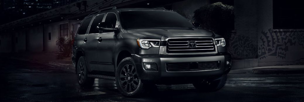 2021 Toyota Sequoia Nightshade Edition Exterior Passenger Side Front Profile