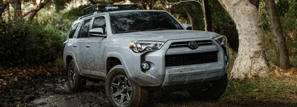2021 4Runner driving off-road