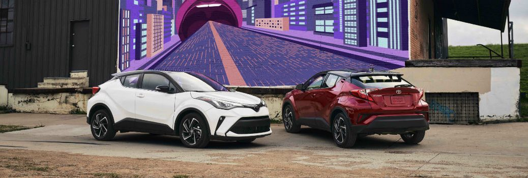 2020 Toyota C-HR Family Exterior Angles
