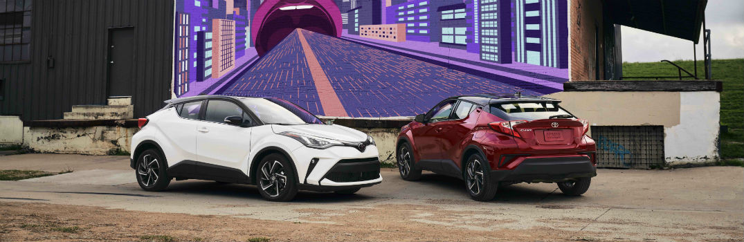 What's new in the 2021 Toyota C-HR?